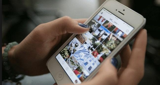 Прилржение Instagram на iPhone