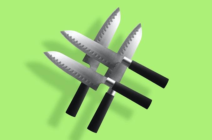 хештег из ножей